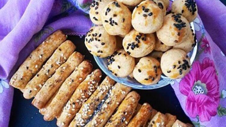 Acılı tuzlu kurabiye tarifi