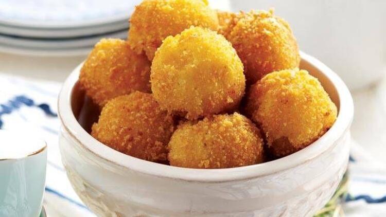 Peynirli çıtır patates topları tarifi