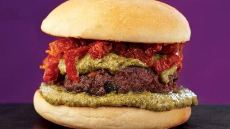 Fıstıklı köfteli hamburger tarifi