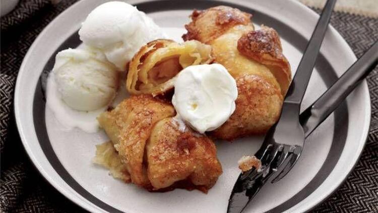 Elmalı hamur tatlısı tarifi