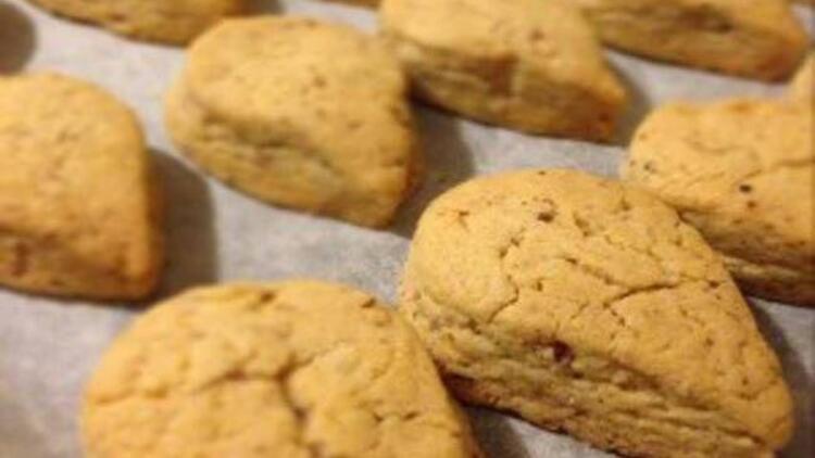 Cevizli damla kurabiye tarifi