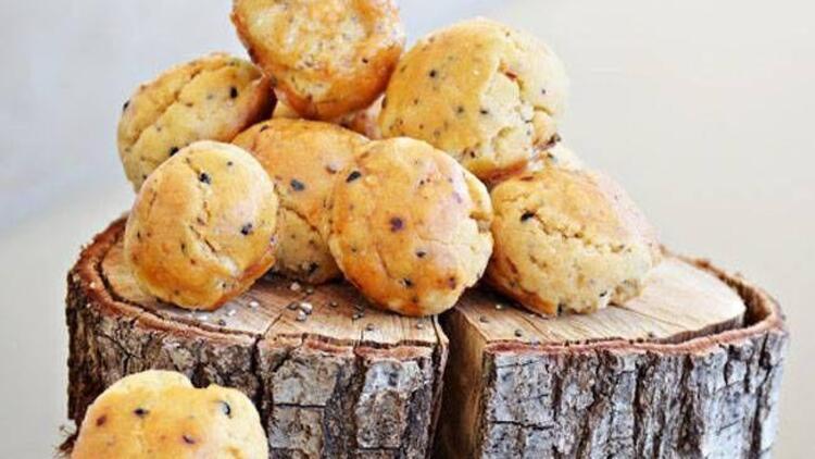 Chia tohumlu misket kurabiye tarifi