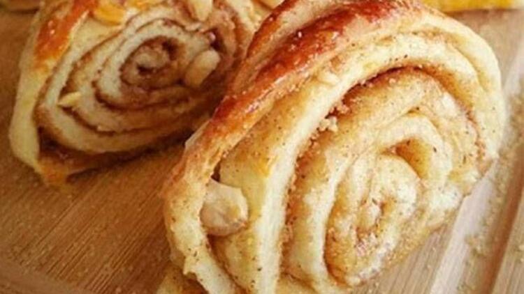 Tarçınlı ve fındıklı çörek tarifi