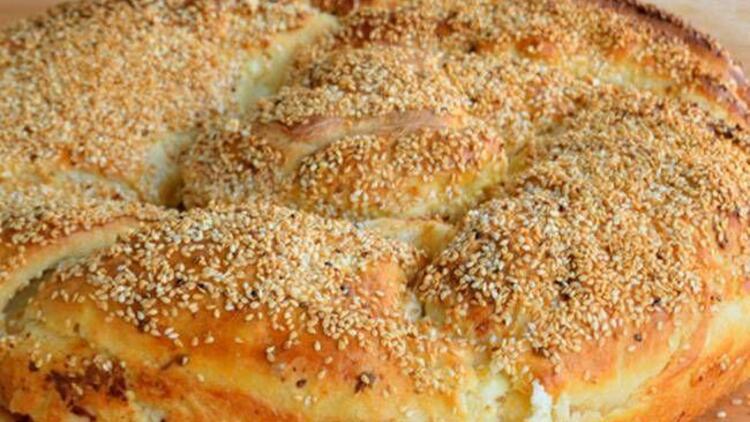 Peynirli susamlı çörek tarifi