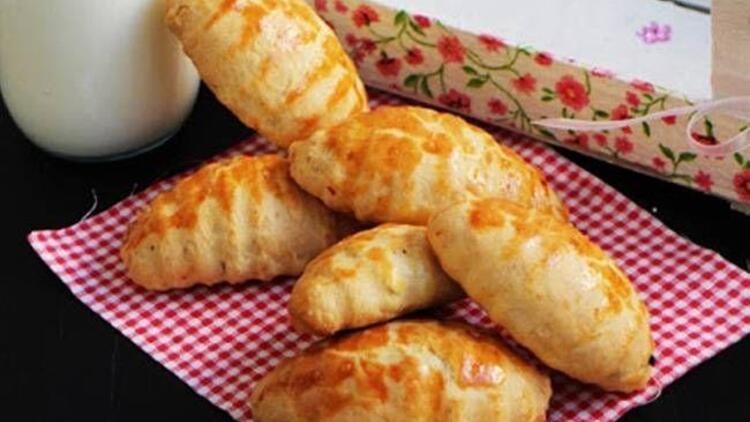 Tuzlu içli kurabiye tarifi