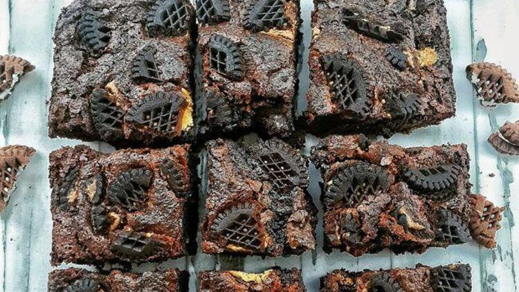 Bisküvili yumuşak browni tarifi