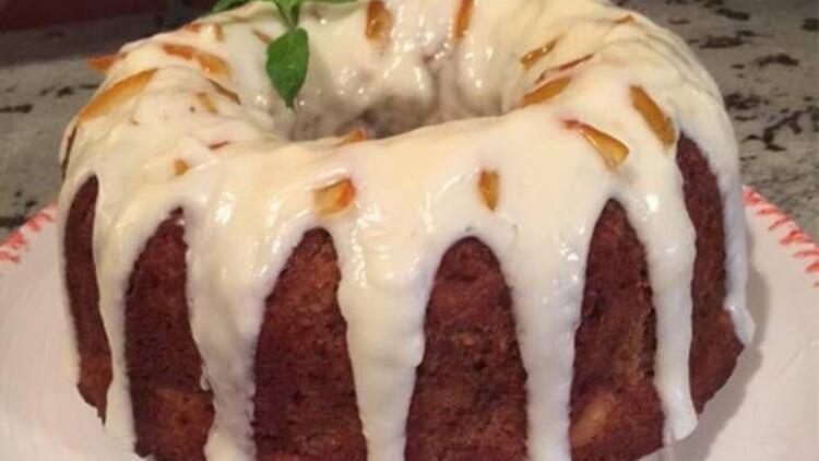 Krema dolgulu havuçlu kek