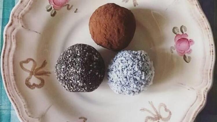 Diyet enerji topları tarifi