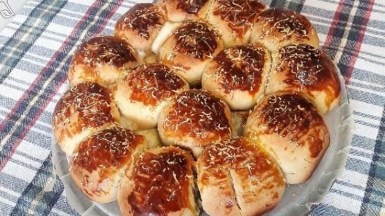 Sucuklu puf çörek tarifi