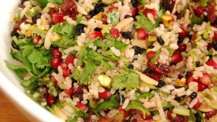 Pirinçli salata tarifi