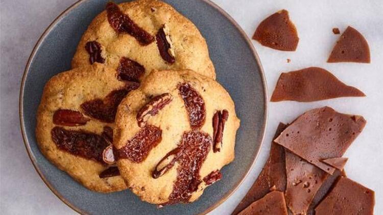 Pikan cevizli ve karamelli kurabiye tarifi
