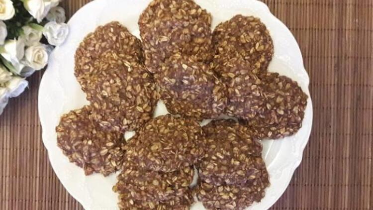 Atıştırmalık diyet kurabiye tarifi