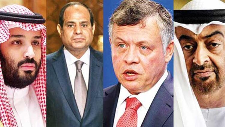 Beş Arap ülkesi Türkiye'ye karşı toplandı! - Sondakika Haberler