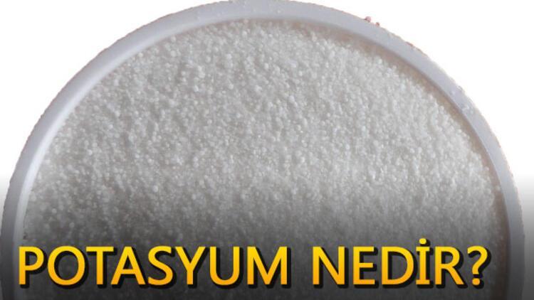 Potasyum nedir? Fazla potasyum zararlı mı?