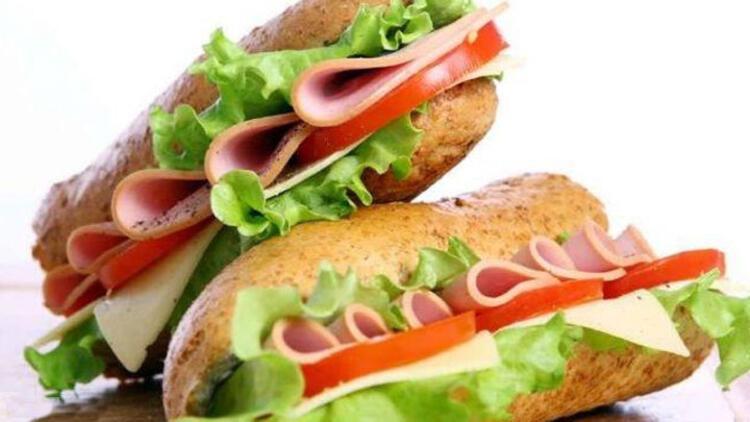 Jambonlu sandviç tarifi