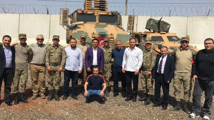 Şampiyon güreşçilerden Zeytin Dalı Harekatı'na destek