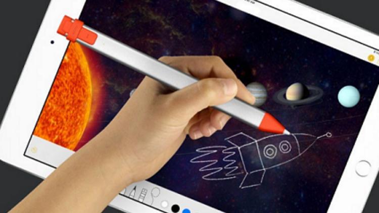 iPad uyumlu kalem: Logitech Crayon