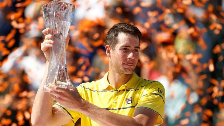 Miami Açık'ta şampiyon Isner