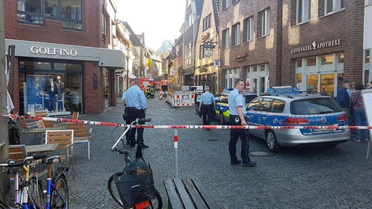 Münster saldırganı herkesi suçlamış!