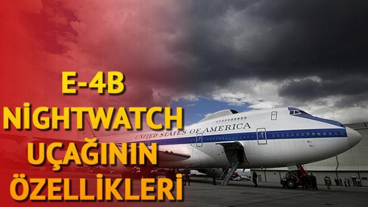 E-4B Nightwatch nedir? E-4B Nightwatch uçağının özellikleri