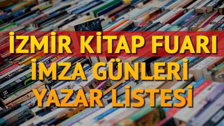 İzmir Kitap fuarı 2018 etkinlik takvimi yayınlandı! İşte yazar listesi ve imza günleri