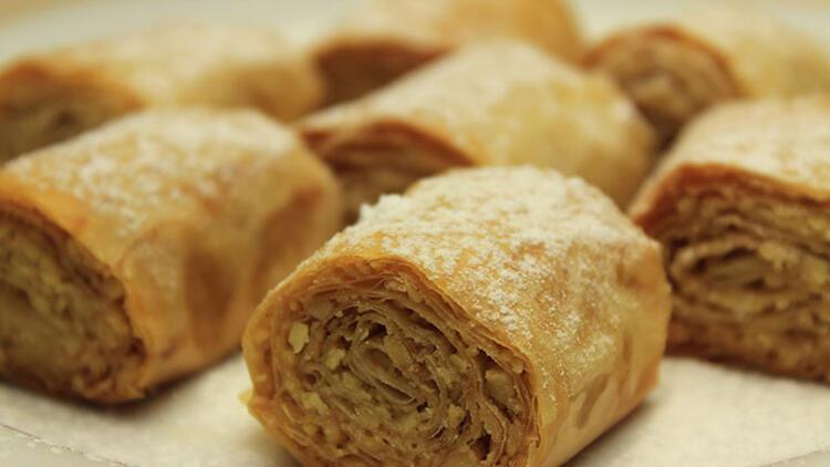Bademli çıtır rulo kurabiye tarifi