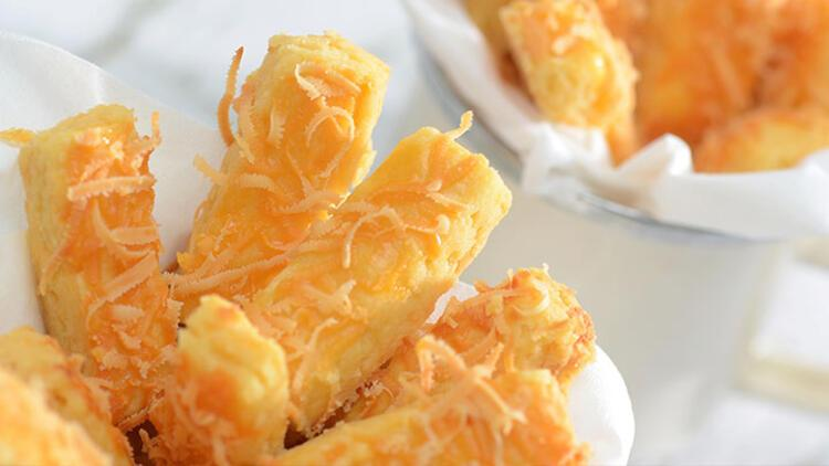 Cheddar peynirli kurabiye tarifi