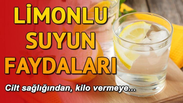 Limonlu suyun faydaları | Limonlu su içmek faydalı mı?