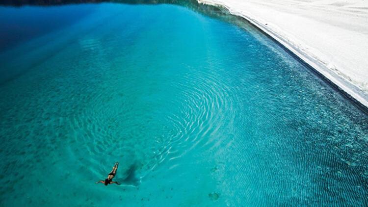 Türkiyenin Maldivleri olarak anılan Salda Gölünde büyük tehlike