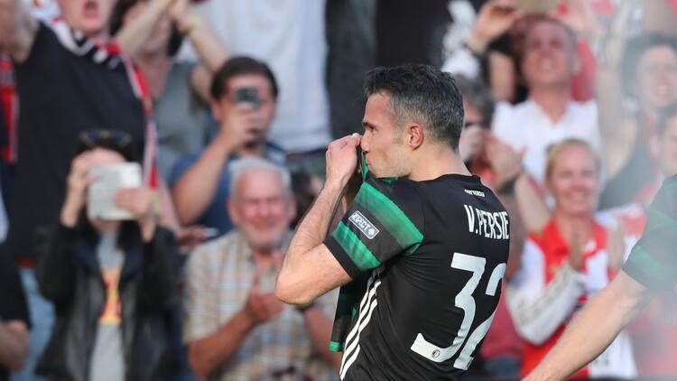 Van Persie attı, Feyenoord Hollanda Kupası'nı kazandı