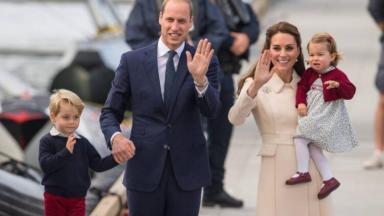 Kate Middleton ve Prens Williams'ın bir erkek çocuğu oldu!