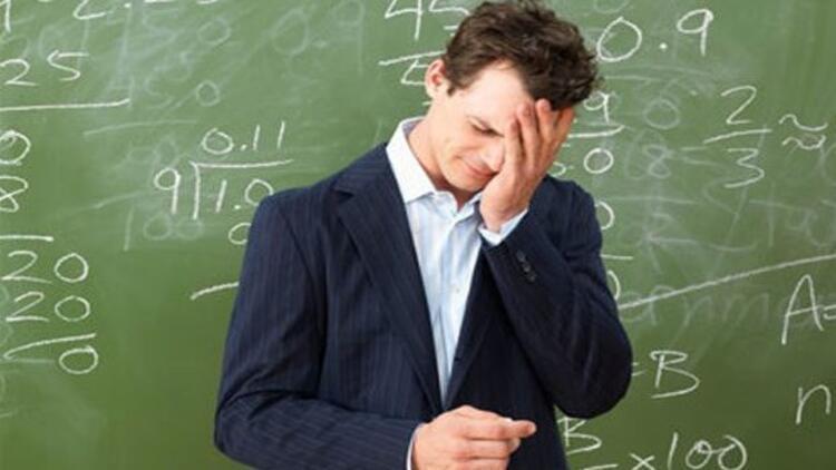 İşini seven öğretmen, öfkesini kontrol ediyor