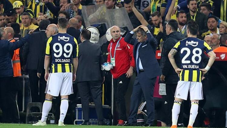 TFF olaylar nedeniyle yarıda kalan Fenerbahçe - Beşiktaş derbisinin tarihi ve cezaları açıklandı!