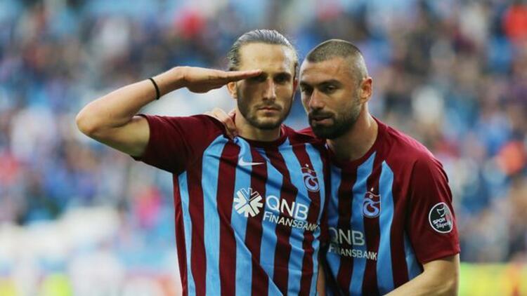 Trabzonspor'u, Burak Yılmaz ve Yusuf Yazıcı taşıyor - Son Dakika ...