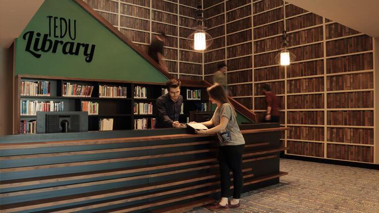 Üniversite kütüphanesine birincilik ödülü