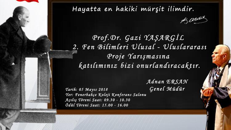 Prof. Dr. Yaşargil proje yarışmasında finalistler yarışacak