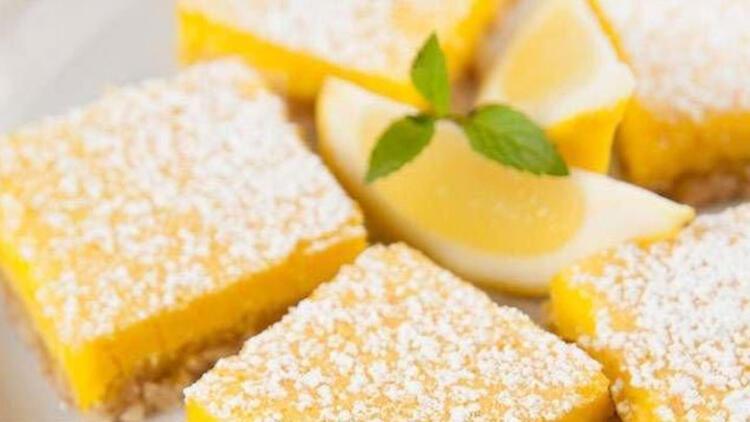 Limonlu bisküvi tatlısı tarifi