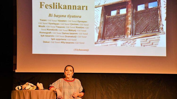Gül Sunal, 'güldüren adam'ı Stockholm'de anlattı