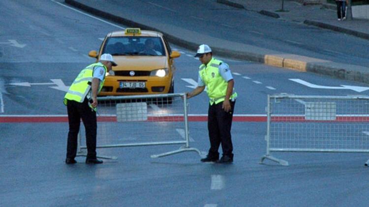 İstanbullular dikkat Beyoğlunda bu yollar kapalı