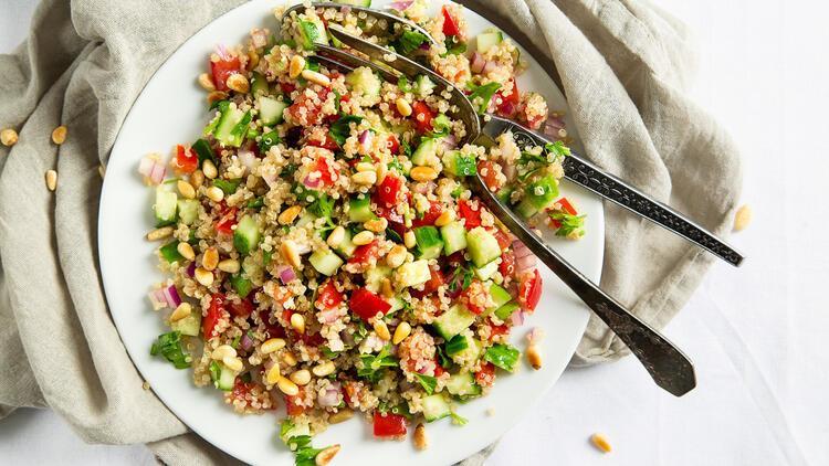Kinoa nasıl pişirilir? Kinoa salatası nasıl yapılır?