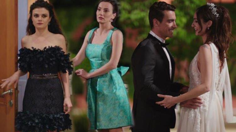 """""""Siyah Beyaz Aşk""""ın final bölümünde kim ne giydi?"""