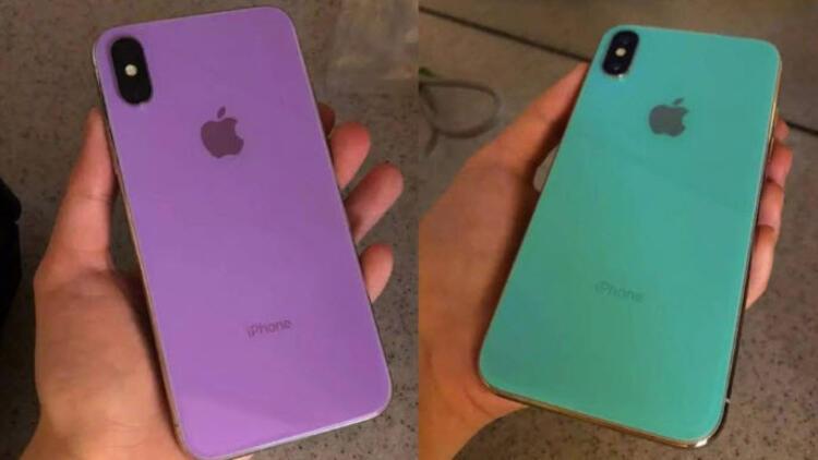 Yeni iPhone X'ler yoksa böyle mi görünecek?