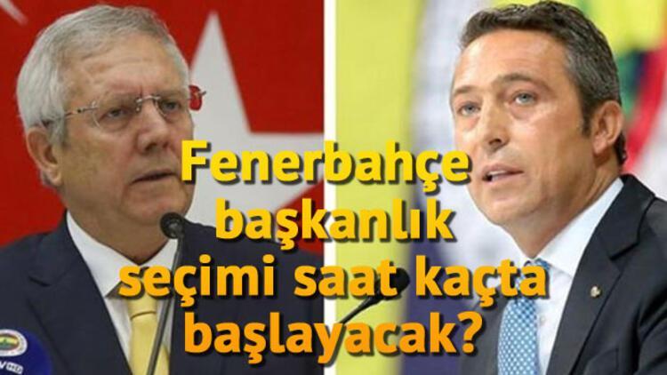 Fenerbahçe başkanlık seçimi ne zaman hangi gün yapılacak? Tarihi kongre başladı