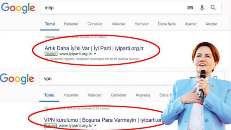 İYİ Parti ve MHP arasında 'Google' savaşı