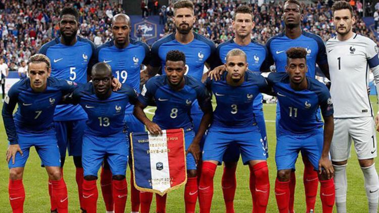 2018 Dünya Kupası'nda Fransa Milli Takım kadrosunda kimler var?