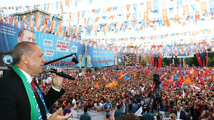 Cumhurbaşkanı Erdoğan'dan İnce'ye 'Beyaz Türk' yanıtı