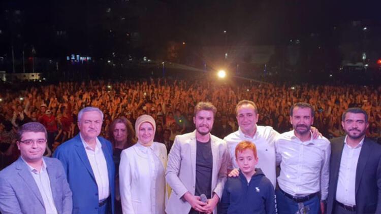 Mehmet Ağar'ın oğlu Tolga Ağar Elazığ'da Mustafa Ceceli konseriyle Seçmenlerini buluşturdu