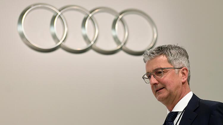 Audi CEO'su tutuklandı