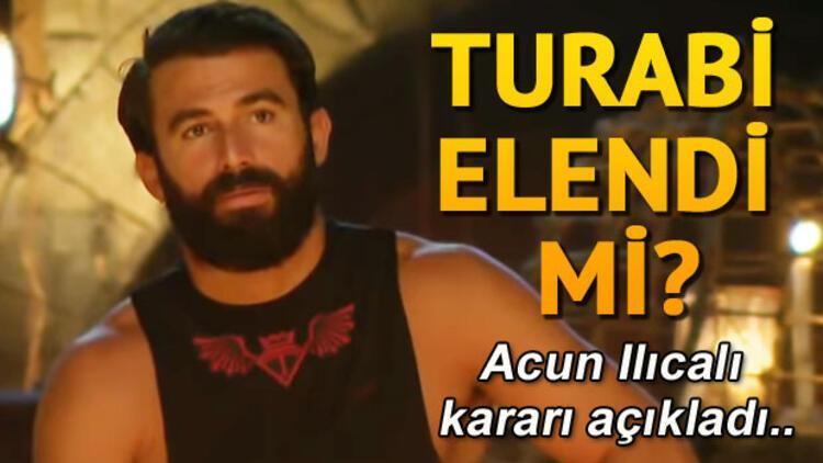 Turabi Survivor'dan elendi mi? İşte Turabi hakkında alınan karar