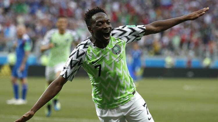 Nijerya'da Ahmed Musa şov